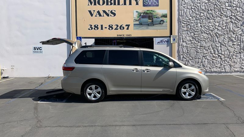 Used 2016 Toyota Sienna.  ConversionFreedom Motors Power Toyota Rear Entry