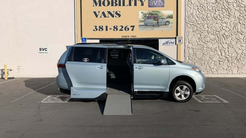 2017 Toyota Sienna VMI Toyota NorthstarAccess360 wheelchair van for sale