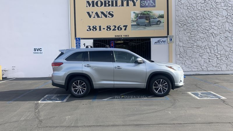 Used 2018 Toyota Highlander.  Conversion