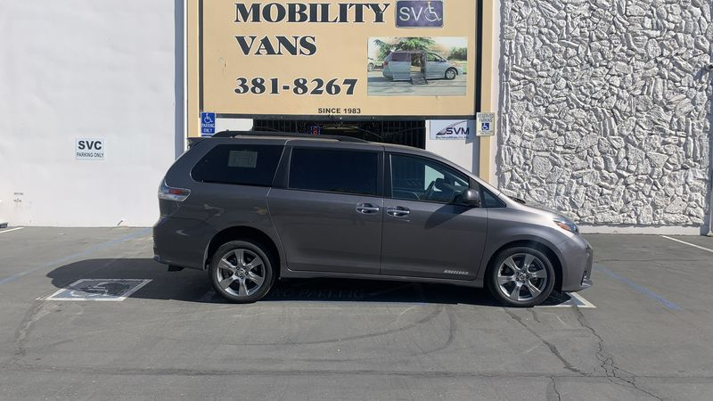 Used 2019 Toyota Sienna.  ConversionFreedom Motors Power Toyota Rear Entry